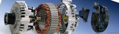 генератор автомобиля в разобранном виде